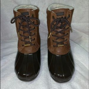 Michael Kors Easton Duck Boots